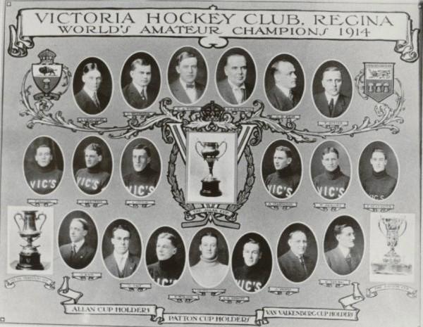 1914 Regina Victoria Hockey Club