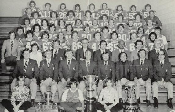 1976 Regina Rams