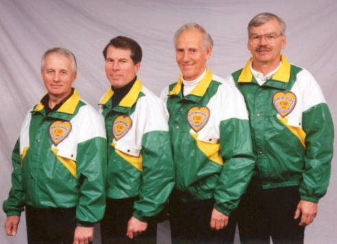 The 1998 Gary Bryden curling team