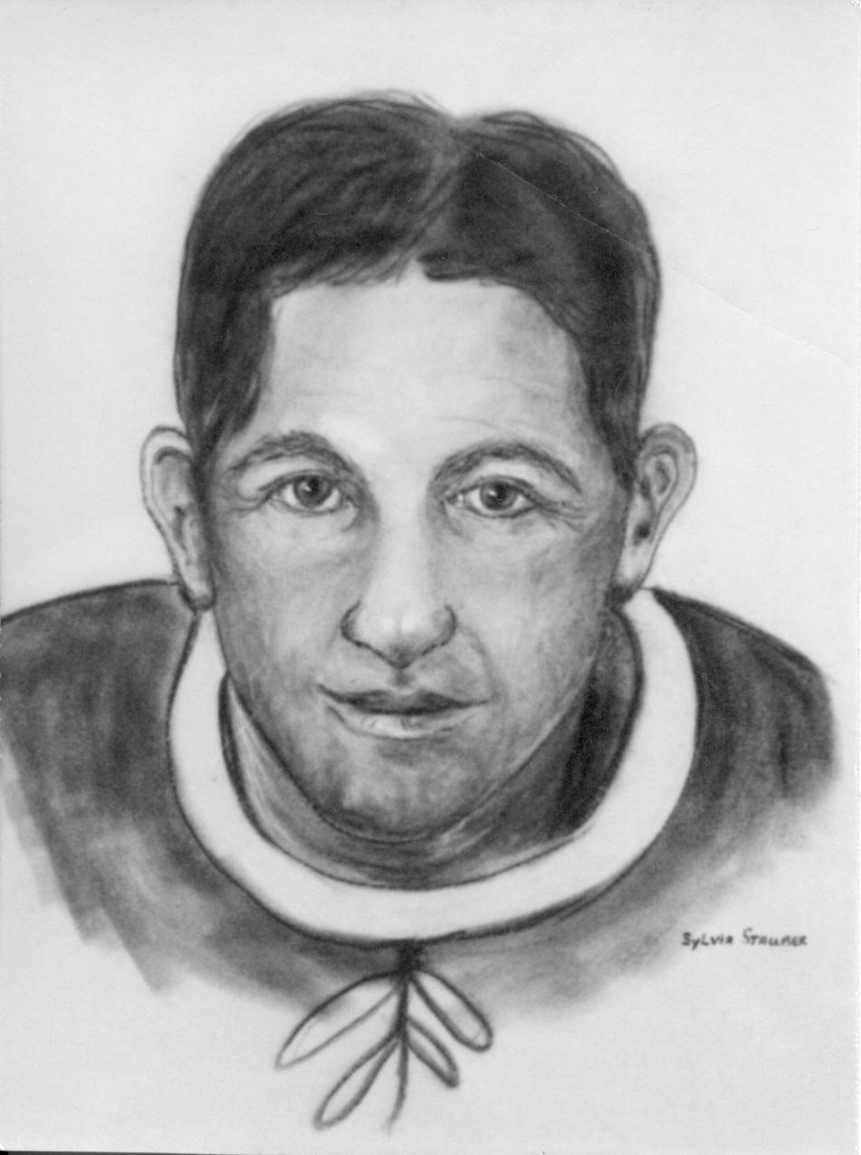 Elmer Lach portrait