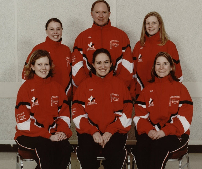 The 2003 Marliese Miller curling team