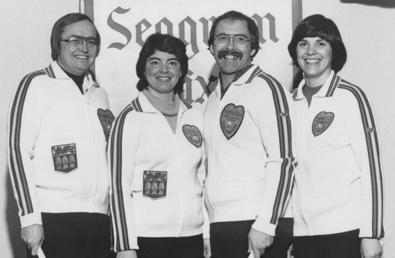 The 1983 Rick Folk mixed curling team