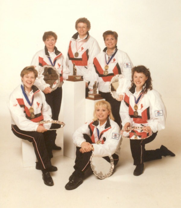 The 1997 Sandra Schmirler curling team