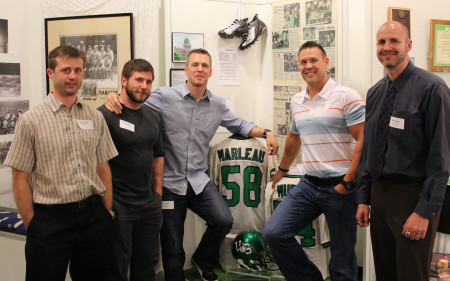 Members of the 1998 University of Saskatchewan Huskies Football Team: 2013 inductees